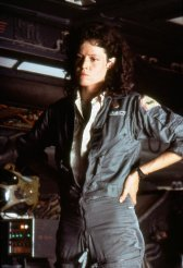 Sigourney Weaver of Aliens