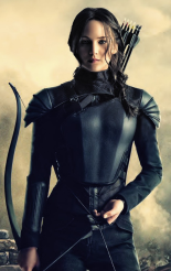 Jennifer Lawrence of Hunger Games