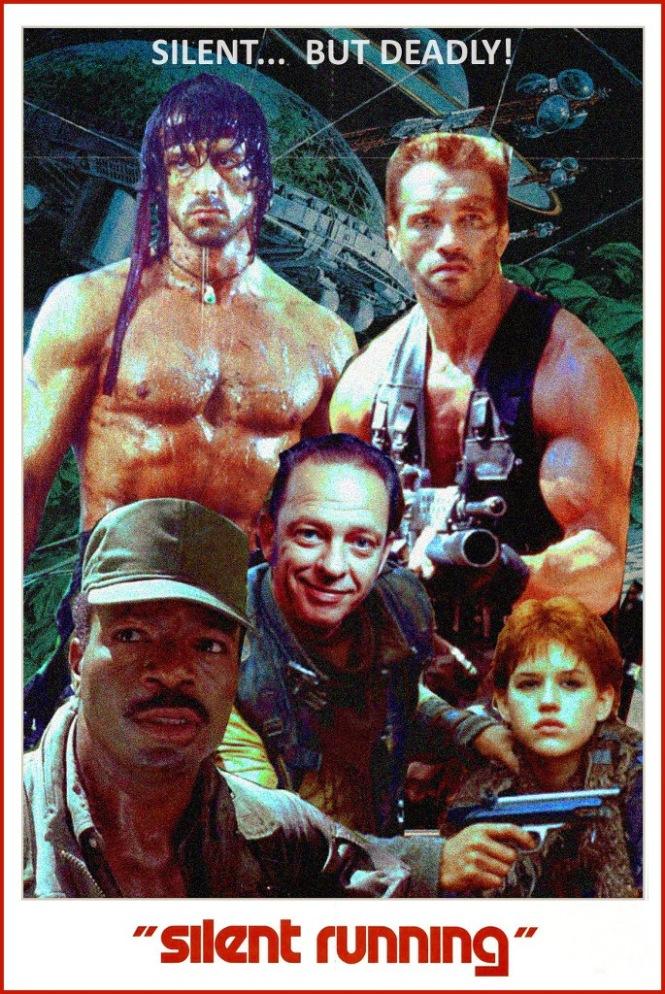 032 Silent Running - Silent But Deadly Poster