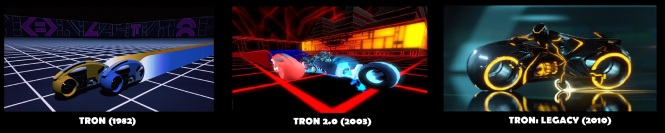 TRON designs comparison