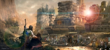 mortal engines town